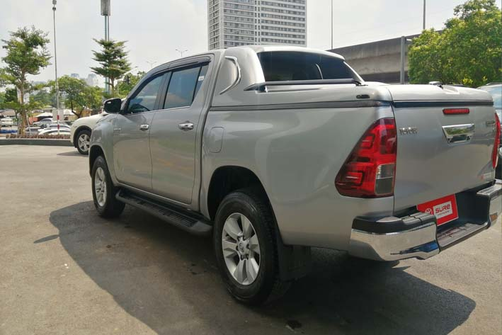 Toyota Hilux 3.0G (4X4) AT 2016